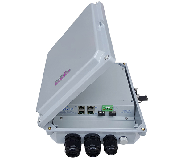 outdoor fast ethernet unmanaged poe switch
