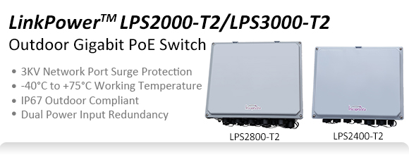 Outdoor Poe Switch Weatherproof Poe Switch Linkpower
