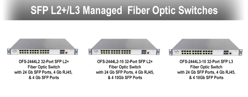 Commercial PoE Switches  & SFP Transceivers